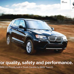 X3 Poster - BMW Manufacturing
